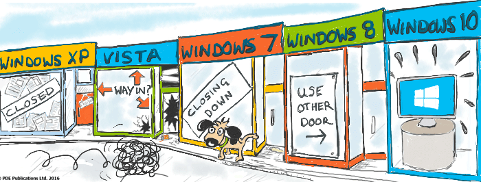 windows shopping
