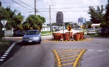 Photo of roundabout