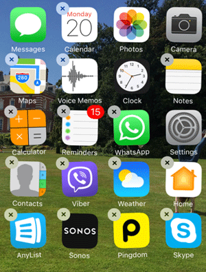 customize iphone home screen