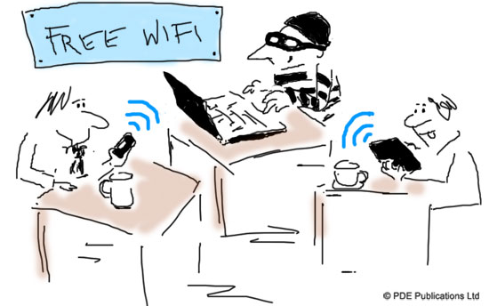free wifi not secure