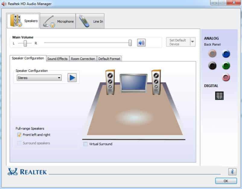 Realtek High Definition Audio Output Driver Download