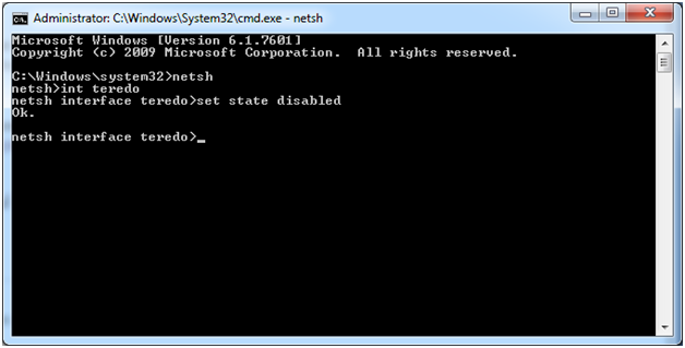 netsh command