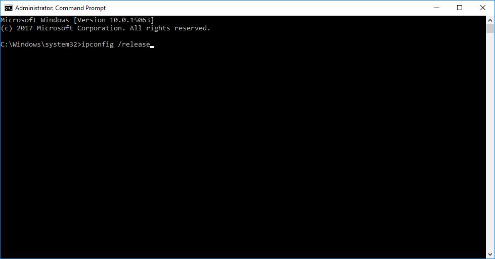 ip config commands