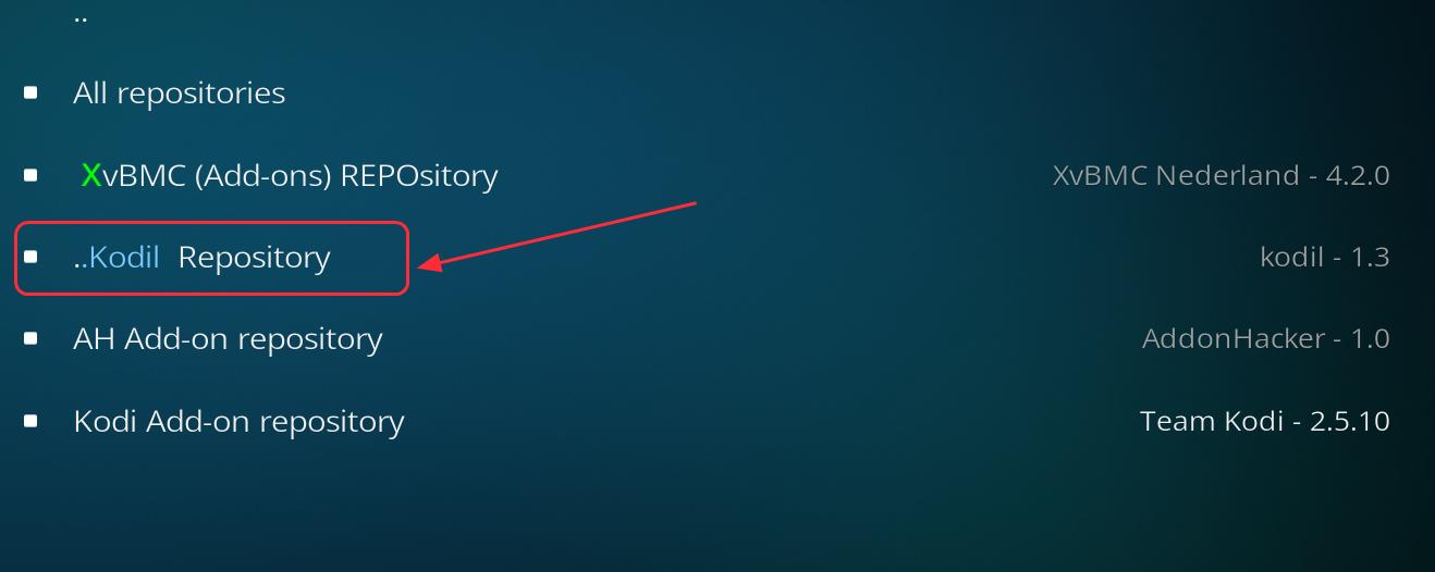 kodil repository
