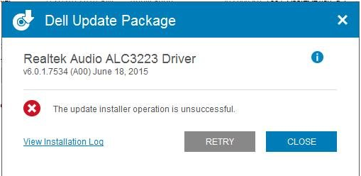 dell-drivers-issue