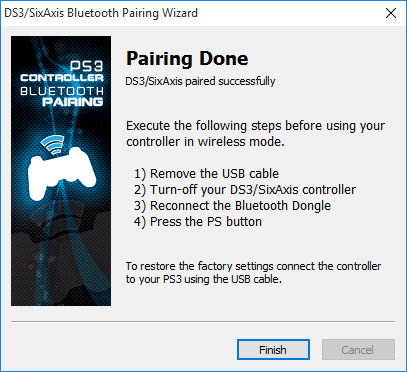 how to sync ps3 controller to pc bluetooth