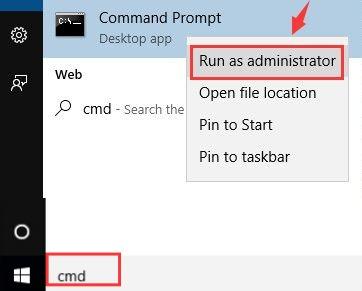 cmd prompt admin