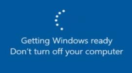 Getting-Windows-Ready-Error