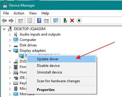 update amd driver