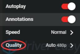 lower quality
