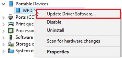 update driver software