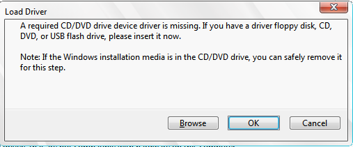 CD-DVD driver missing
