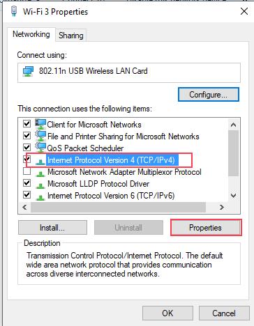 TCP-IPv4-properties