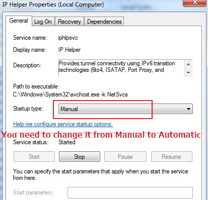 ip helper manual