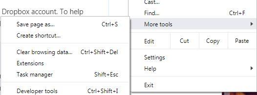 click more tools