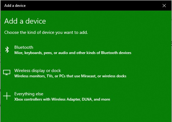 How to connect an Xbox One Wireless Controller to a Windows