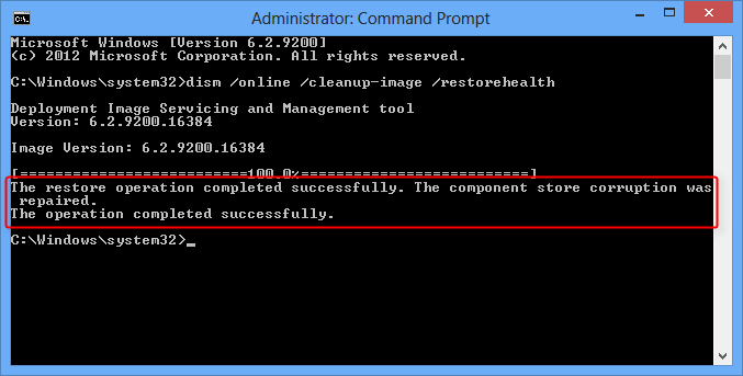 dism commands